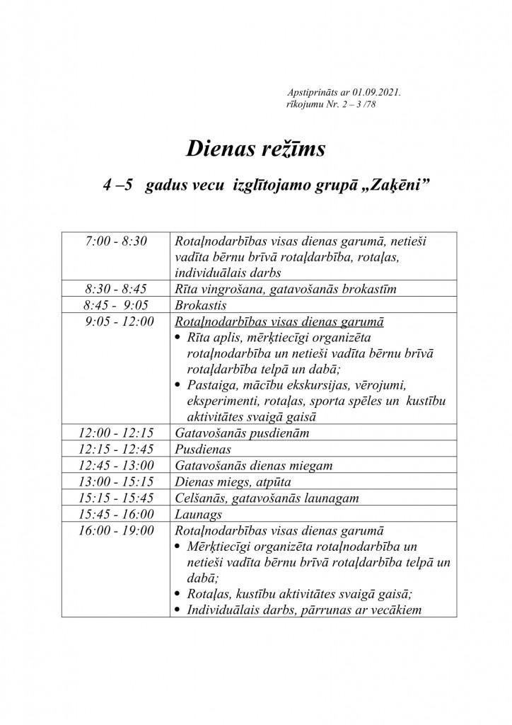 ZAĶĒNI dienas režīms-1