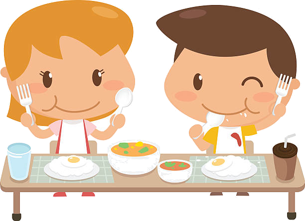 eating-children-clipart-transparent