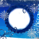 Winter_Transparent_Snowflake_Frame